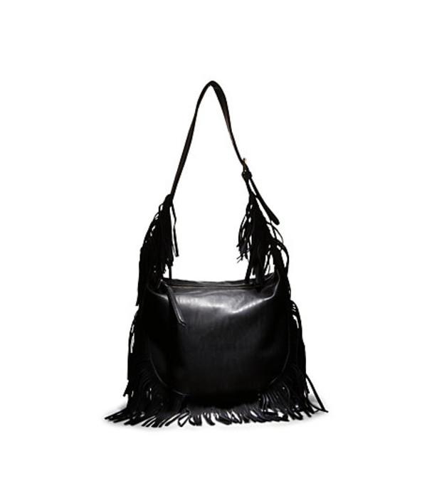 bag fringe black purse fringed bag fringes