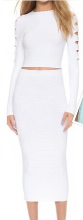 dress,co-ord,2 piece skirt set,white 2 piece formal dresses,white,white dress,white crop tops,white skirt,white 2 piece,2 piece dress set,2 piece dreses,cut out crop top,cut out bodycon dress,long sleeves,long sleeve dress,bodycon,bodycon dress,party dress,sexy party dresses,sexy,sexy dress,party outfits,sexy outfit,summer dress,summer outfits,spring dress,spring outfits,fall dress,fall outfits,winter dress,winter outfits,summer holidays,classy dress,elegant dress,cocktail dress,cute dress,girly dress,date outfit,birthday dress,clubwear,club dress,graduation dress,homecoming,homecoming dress,wedding dress,wedding clothes,wedding guest,engagement party dress