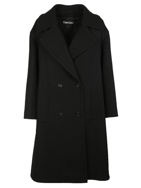 Tom Ford coat double breasted black