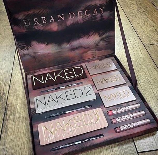 make-up urban decay make up box blush eye makeup lip gloss face makeup