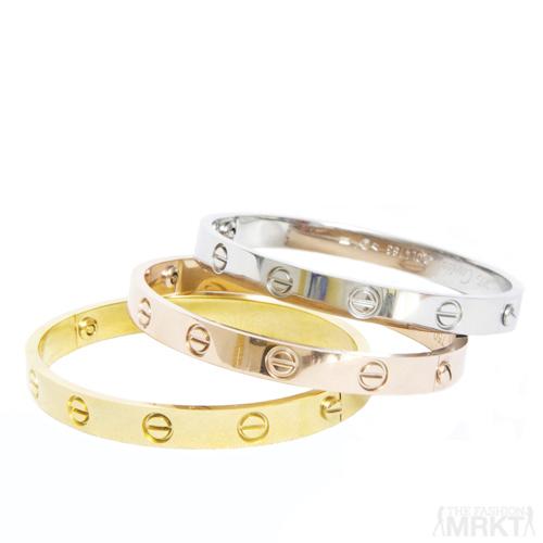 Cartier Love Inspired Bracelet / TheFashionMRKT