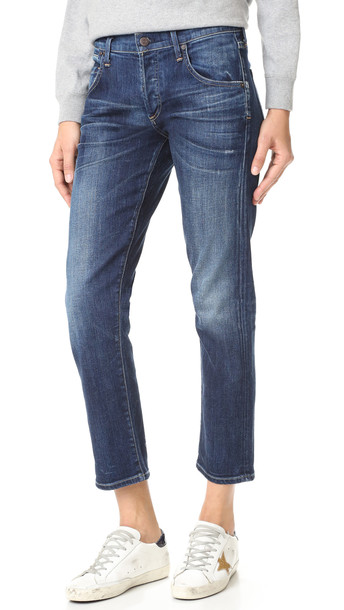 Citizens Of Humanity Premium Vintage Emerson Slim Bf Jeans - Blue Ridge