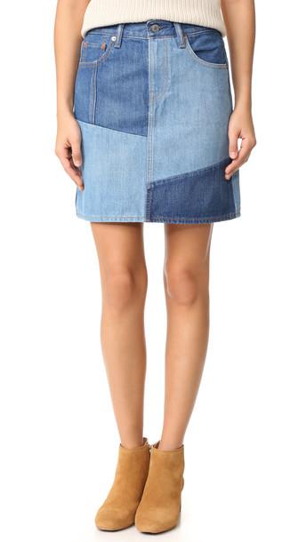 Levi'S Everyday Skirt - Pacific Indigo