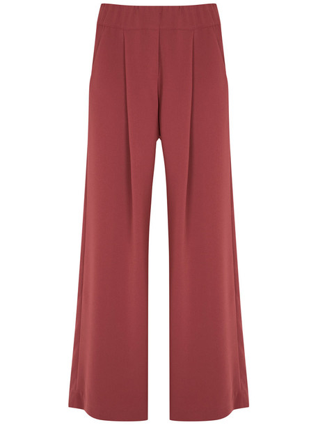 Lilly Sarti women spandex red pants
