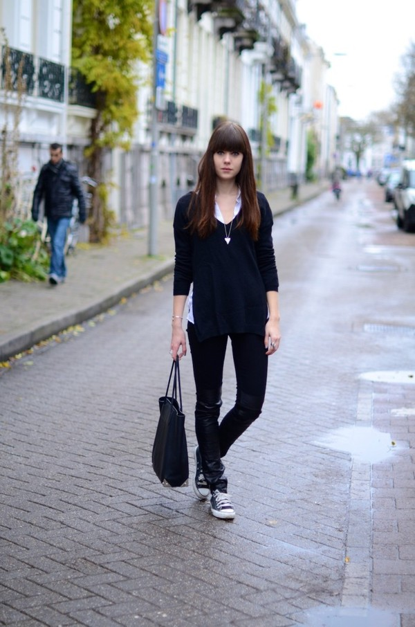 lovely by lucy blouse sweater jeans bag jewels