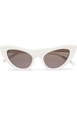 new sunglasses white