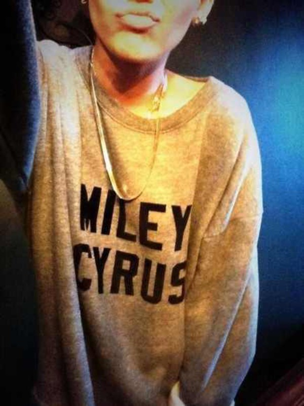 sweater miley cyrus