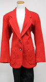 Red innovation sport blazer (size