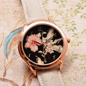 jewels,rose gold watch,women watches rose gold,boho chic jewelry,birthday gift for sister,handmadepeople
