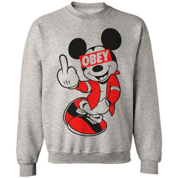 Mickey Mouse Obey Face Mickey Mouse Obey Edit Mickey