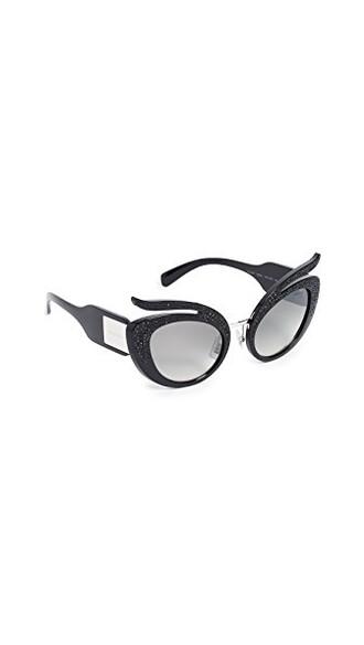 sunglasses silver black grey