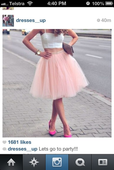 the and skirt tulle pink fluffle sex city carrie bradshaw