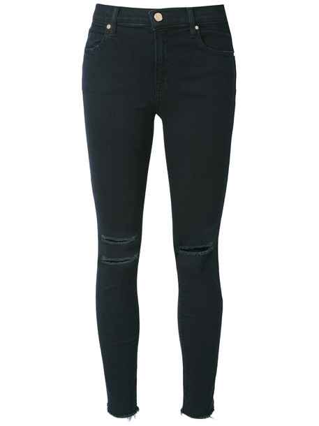 jeans women spandex cotton black