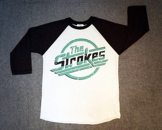 t-shirt shirt the strokes strokes tee-shirt