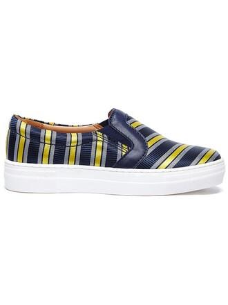 women varsity sneakers blue satin shoes