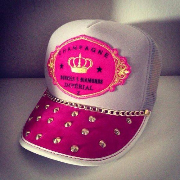 princess hat pink girly