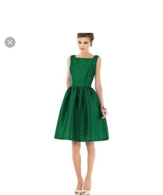 dress green sleeveless