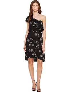 Lucky Brand Botanical Ruffle Dress