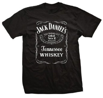Amazon.com: Jack Daniels Front Label T - Shirt: Clothing