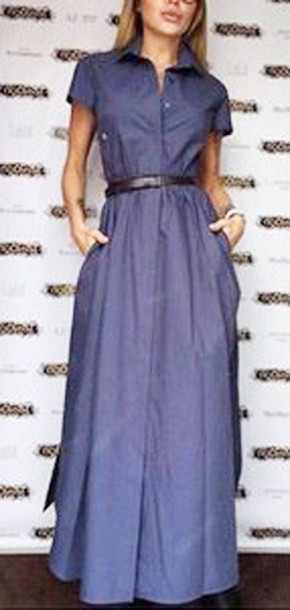 Maxi Business Dress