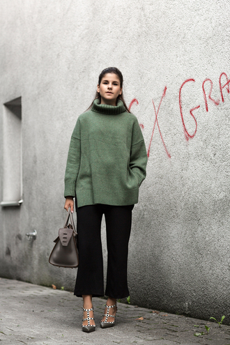 Cropped Turtleneck Sweater - Shop for Cropped Turtleneck Sweater ...