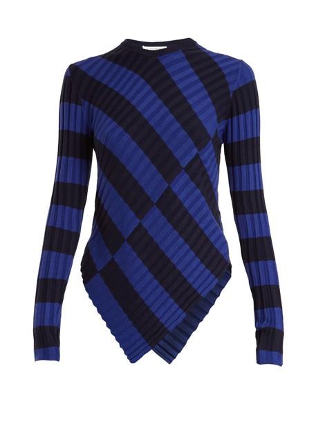 Altuzarra top knit navy