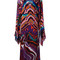 Roberto cavalli lungo dreamscape dress, women's, size: 40, silk