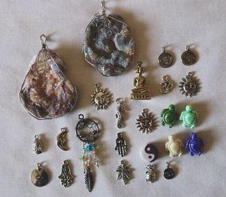 jewels necklace boho jewelry