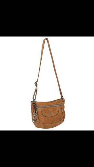 bag purse cross body bag brown bag
