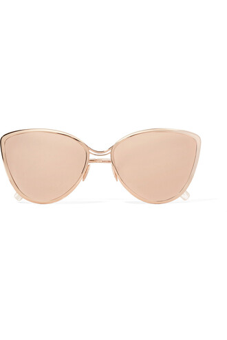 rose gold rose sunglasses mirrored sunglasses gold metallic blush