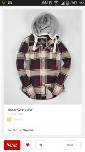 jacket,lumberjack,hoodie,coat,red,plaid jacket,shirt,plaid