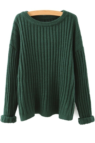 sweater green fall outfits winter outfits long sleeves oversized