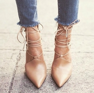 shoes nude sandals nude pumps nude heels strappy heels
