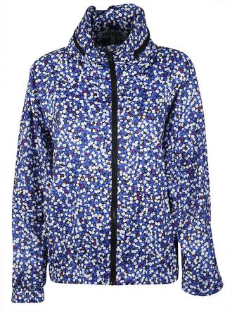 jacket floral jacket floral blue