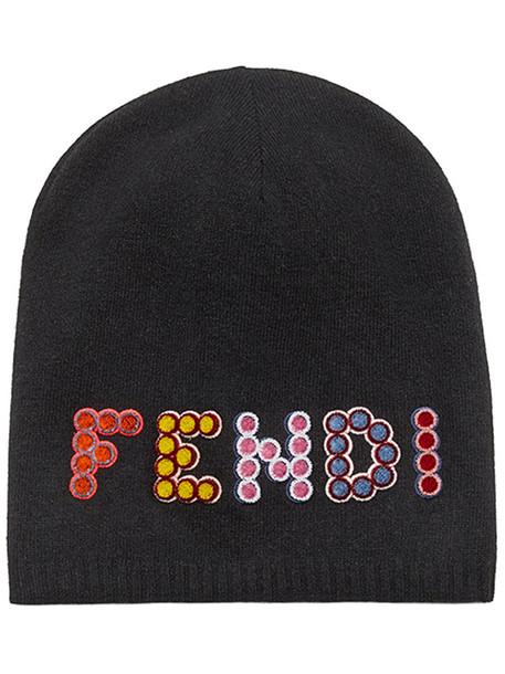 Fendi - Fun Fair beanie hat - women - Cashmere Wool - S 9a24b13063