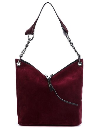 bag shoulder bag red