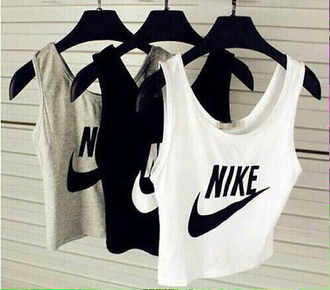 tank top clothes clothes sport nike sport sports top sporty style sportswear