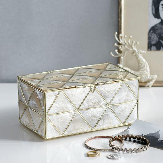 Capiz Jewelry Box | west elm