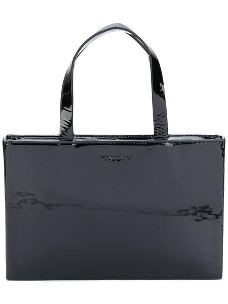 Helmut Lang mini women bag tote bag leather black