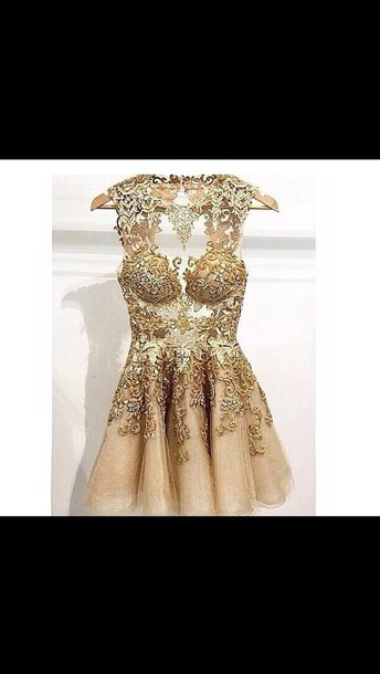 dress gold dress lace dress tumblr dress instagram dress