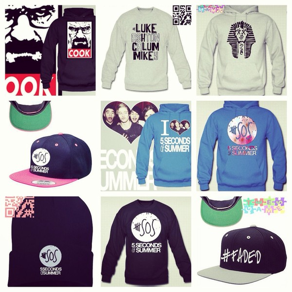 sweater 5sos hoodie 5 sos sweatshirt breakingbad sweatshirt hat