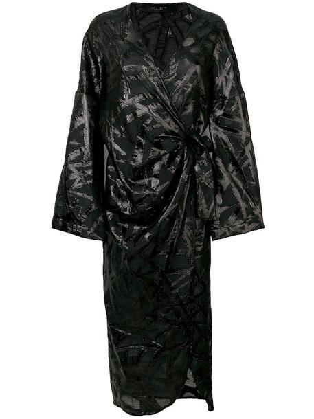 dress women embellished black