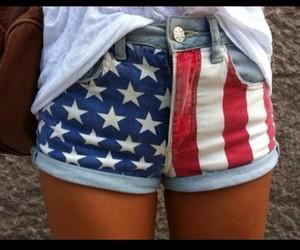 United States American Flag Denim Shorts Hotpants 8 Marbella ...