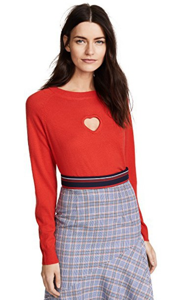 Paper London sweater red