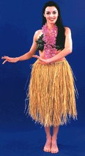 how to make a real grass skirt