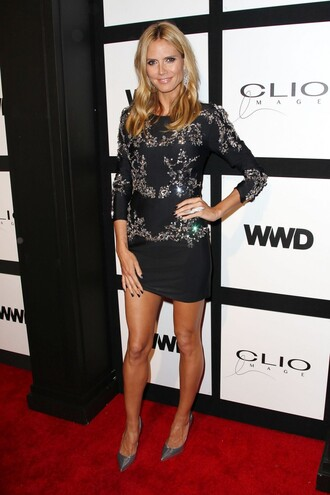 dress mini dress heidi klum pumps