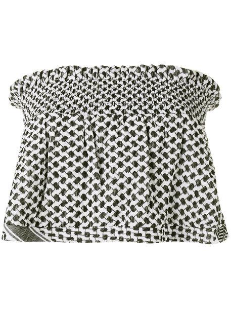 blouse fashion clothes farfetch top
