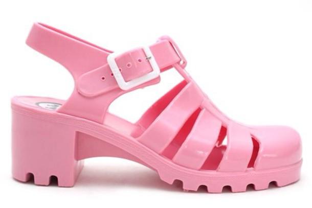 8bfa5d0308b2 shoes jellies jellies jellies pink jelly sandals jelly sandal