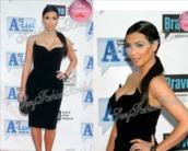 dress,kim kardashian,little black dress,celebrity style,velvet