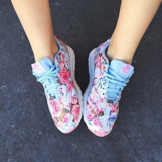 shoes nike running shoes nike shoes nike air trainers pastel sneakers floral shoes